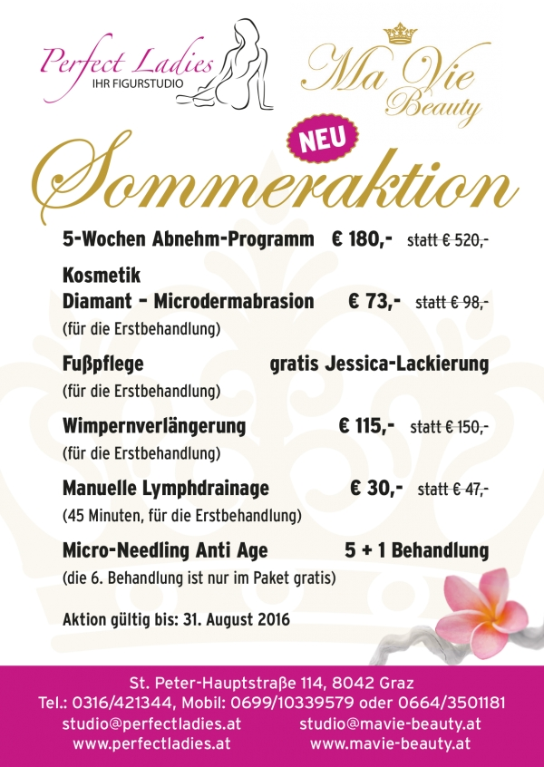 Unsere Sommer-Angebote